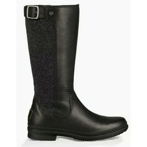 UGG JANINA BOOTS in BLACK